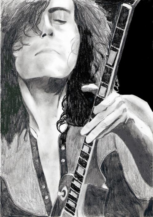 Jimmy Page by Darkmatt599